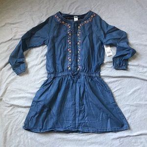 NWT Oshkosh b'gosh chambray shirt dress